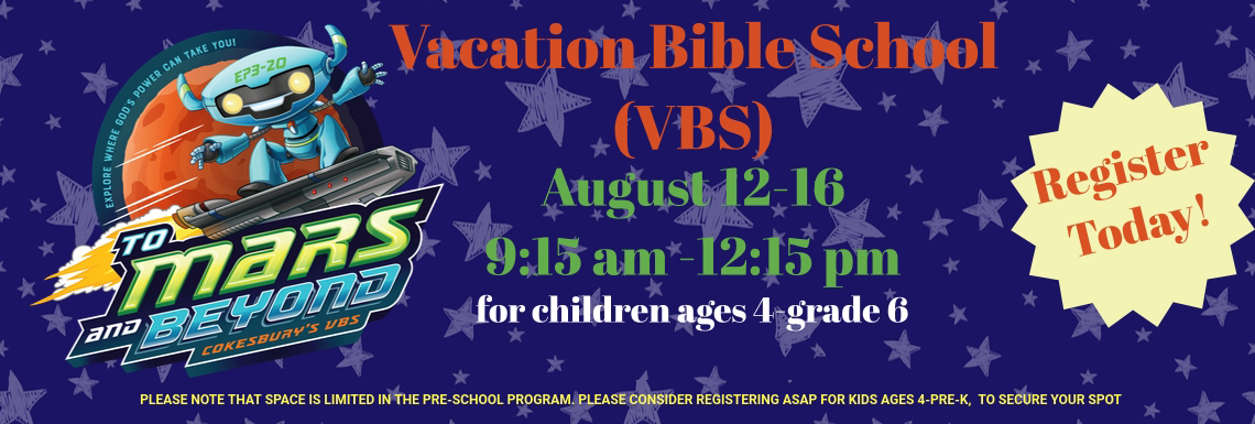 VBS To Mars & Beyond