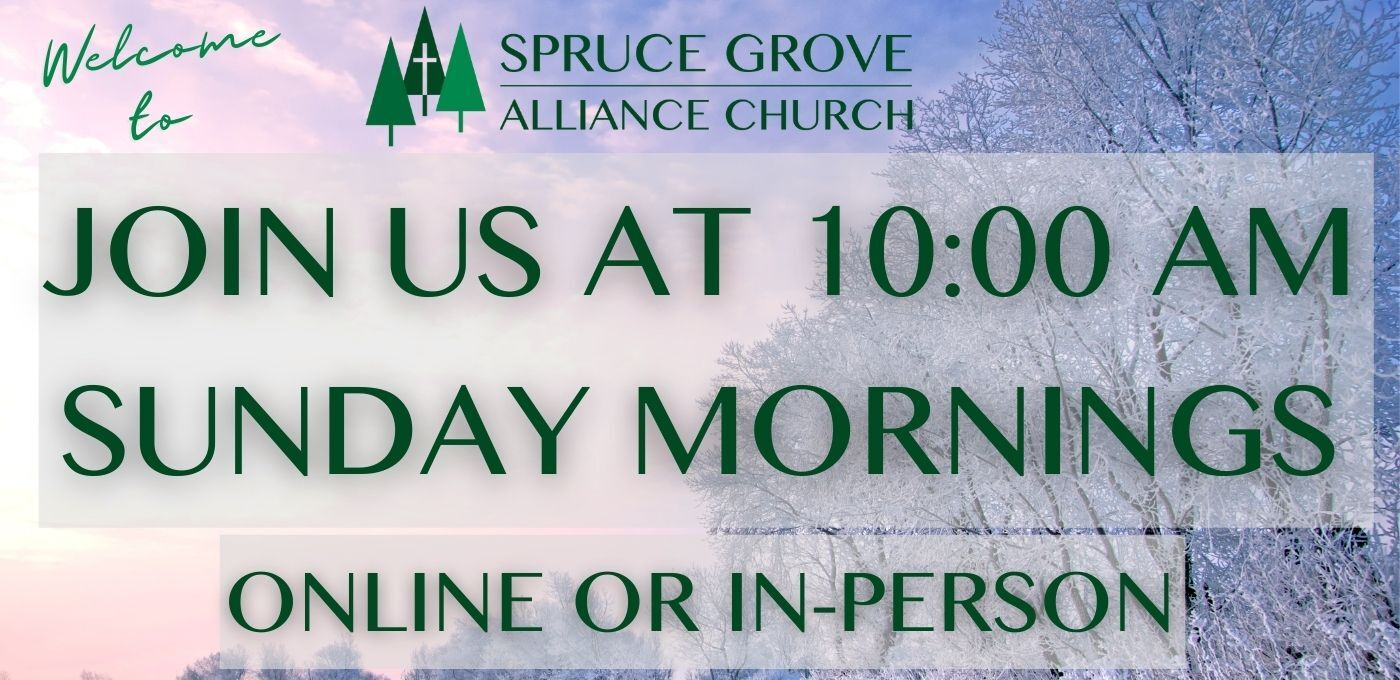Winter Join us at 10 am